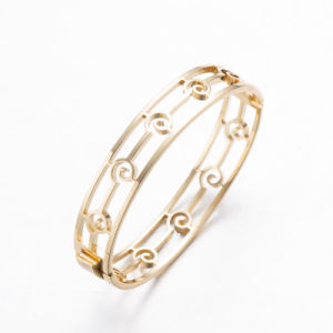 Gold Plated Brass Bangles for Women pictures & photos