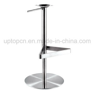 Wholesale Height Adjustable Stainless Steel Chair Base with Foot Rest (SP-STL313) pictures & photos