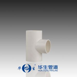PVC Plastic Pipe Tee with High Pressure Fittings pictures & photos