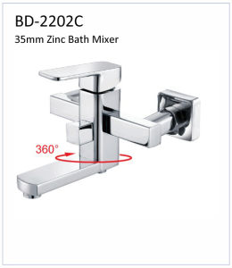 Bd2202c 35mm Zinc Single Lever Bath Faucet pictures & photos