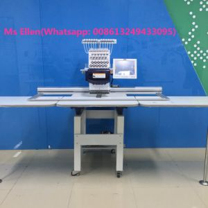 Wonyo Single Head Used Industrial Embroidery Machines for Sale Wy1201CS pictures & photos