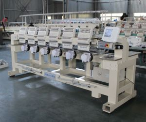 Best China Factory Produce T-Shirt Logos Hat Embroidery Machine 6 Heads Computerized Embroidery Machine pictures & photos