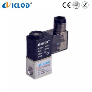 Low Cost Aluminum Material 24V Solenoid Valves for Gas pictures & photos