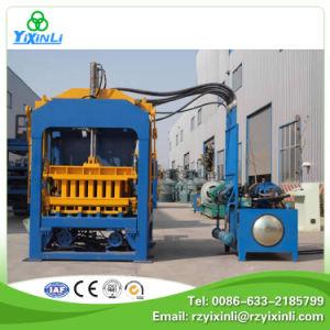 Qt10-15 Fully Automatic Concrete Brick Block Making Machine