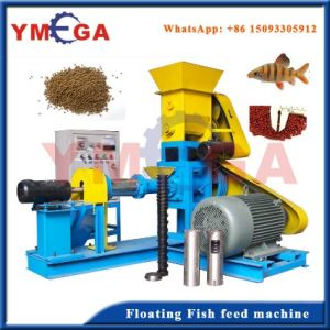 Continuously Working Small Fish Farm Floating Catfish Feed Machine pictures & photos