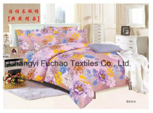 Printed Quilted Pigment Printing Microfiber Bedspread/Bedding Set pictures & photos