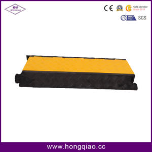 5 Channel Cable Hump Rubber Cable Protector Stand 30tons Long Life Span pictures & photos