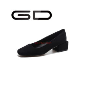 Strange Heel Flat Shoes Elegant Women Shoes pictures & photos