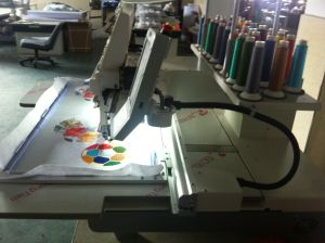 Hye-T1502/400*450 Cap/Tube Embroidery Machine pictures & photos