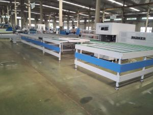 CNC UPVC Door-Window Welding and Cleaning Production Line pictures & photos
