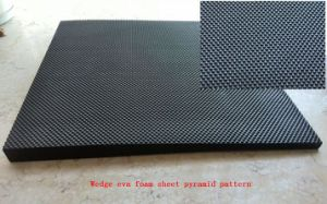 Diamond Design Pyramid Pattern EVA Rubber Sheets for High Quality Shoes Sole pictures & photos