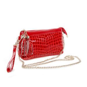 Lady Designer Wristlet Clutch Bag Tassel Evening Fashion Crossbady Bag pictures & photos
