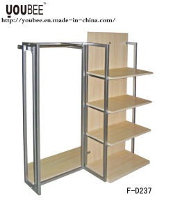 Metal/Wood Display Rack/Shelf/Stand for Retail Store Interior Decoration pictures & photos