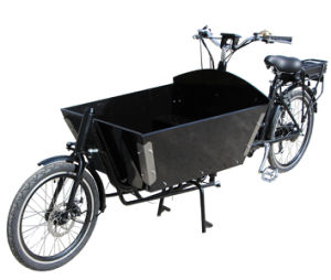 Long Dutch Style Bakfiets Trike with TUV pictures & photos