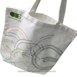 Classic Wholesale Cheap Shopping Bag Eco Friendly Cotton Bag pictures & photos