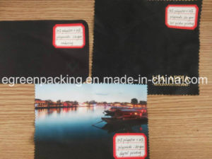 Microfiber Glasses Wipe Cloth Custom Print and Material pictures & photos