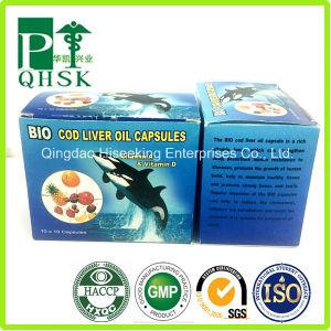 GMP Certificated OEM Cod Liver Oil Capsule pictures & photos