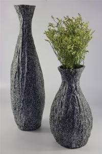 Classical Stone Color Handmade Ceramic Vase