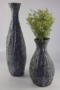 Classical Stone Color Handmade Ceramic Vase pictures & photos