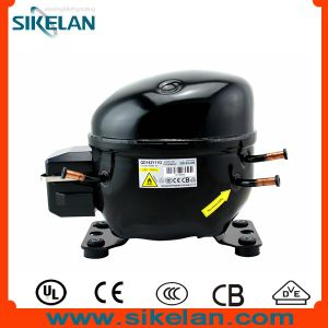 Sikelan Refrigeration Parts R600A Propane Reciprocating Hermetic AC Cooling Compressor Qd142y11g 285W pictures & photos