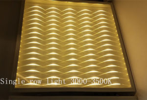 110lm/W 3D LED Panel Light with Special Lighting Effect pictures & photos