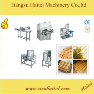 Best Price Htl-2200 Automatic Multi-Function Center Filled Egg Roll / Wafer Stick Machine pictures & photos