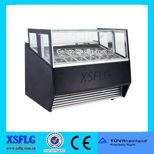 European Standard Display Freezer/Small Ice Cream Showcase pictures & photos
