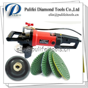 Hand Grinder Wet Dry Grinding Tools Diamond Pad Polishing Wheel pictures & photos