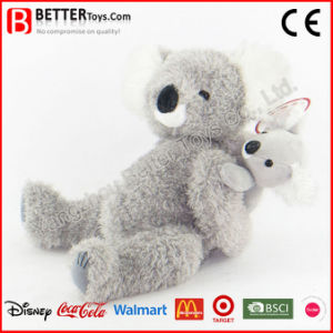 Mother′s Day Stuffed Animal Soft Plush Koala Toy pictures & photos