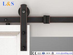 Hot Wholesales Plating Wooden Sliding Door Hardware pictures & photos
