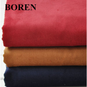 Dying 21 Wale Cotton Corduroy Fabric From Corduroy Factory pictures & photos