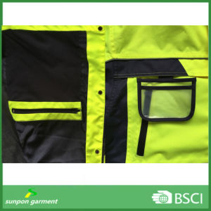 Safety Waterproof Breathable Reflective Jacket pictures & photos
