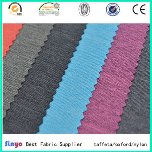 Hot Sale Cationic Yarn PU Coated FDY Jacquard Dobby Fabric for School Bags pictures & photos
