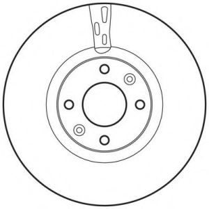 Car Spare Parts Brake Disc Citroen/Peugeot pictures & photos