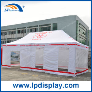 4X8m Transparent Custom Pop up Portable Tent Canopy for Outdoor pictures & photos