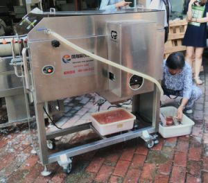 Industrial Stainless Steel Automatic Tilapia Fish Fillet Machine, Samon Fillet Machine pictures & photos