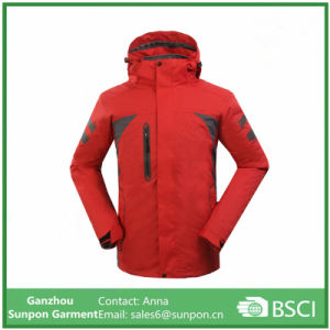 3 In1 Hiking Climbing Clothes Skiing Men Winter Outdoor Jacket pictures & photos