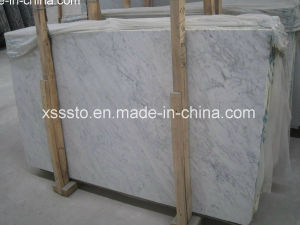 Natural White Carrara Marble Board for Building Materials pictures & photos