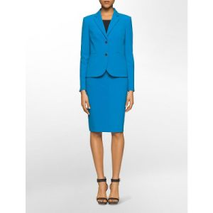Office Ladies Skirt Suit Blue Suit pictures & photos