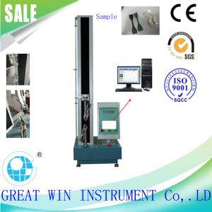 Single Column Computer System Universal Tensile Testing Machine/Equipmemt pictures & photos
