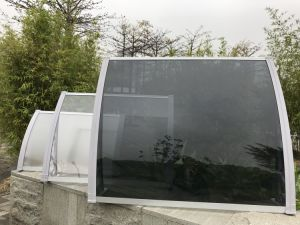 Modern Waterproof Door Window PC Sunshade Canopy/Awning pictures & photos