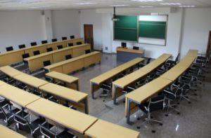 2 Seat Cheap Rectangular School Desk pictures & photos