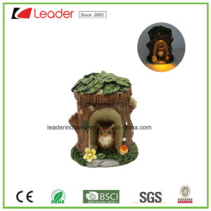 Decorative Polyresin Mushroom Fairy Garden Miniature with Solar Light for Home and Garden Decoraiton pictures & photos
