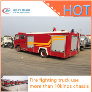 Isuzu Dongfeng Professional 4X2 Foam Water Tank Fire Fighting Truck pictures & photos