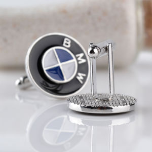 1pair Mens Cufflinks Car Logo Novelty Color Enamel Shirt Cuff Link for Wedding Party Gift