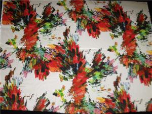 Silk Cdc Print in Diamond Pattern pictures & photos