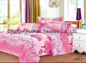 50/50tc Bedding Set for Classic 7-Piece Modern Feather Home Textile pictures & photos