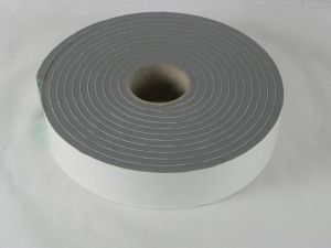0.8mm Black Single Sided PVC Foam Tape pictures & photos