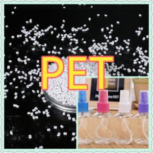 Virgin Pet Resin Granules Flake Scrap Plastic Raw Material pictures & photos