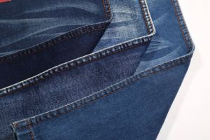 12s 9.5oz Tr Right Twill Elastice Jeans Fabric pictures & photos